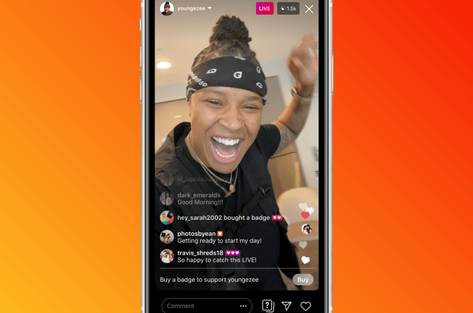 Instagram rolls out fan badges for live videos, expands IGTV ads test – ProWellTech