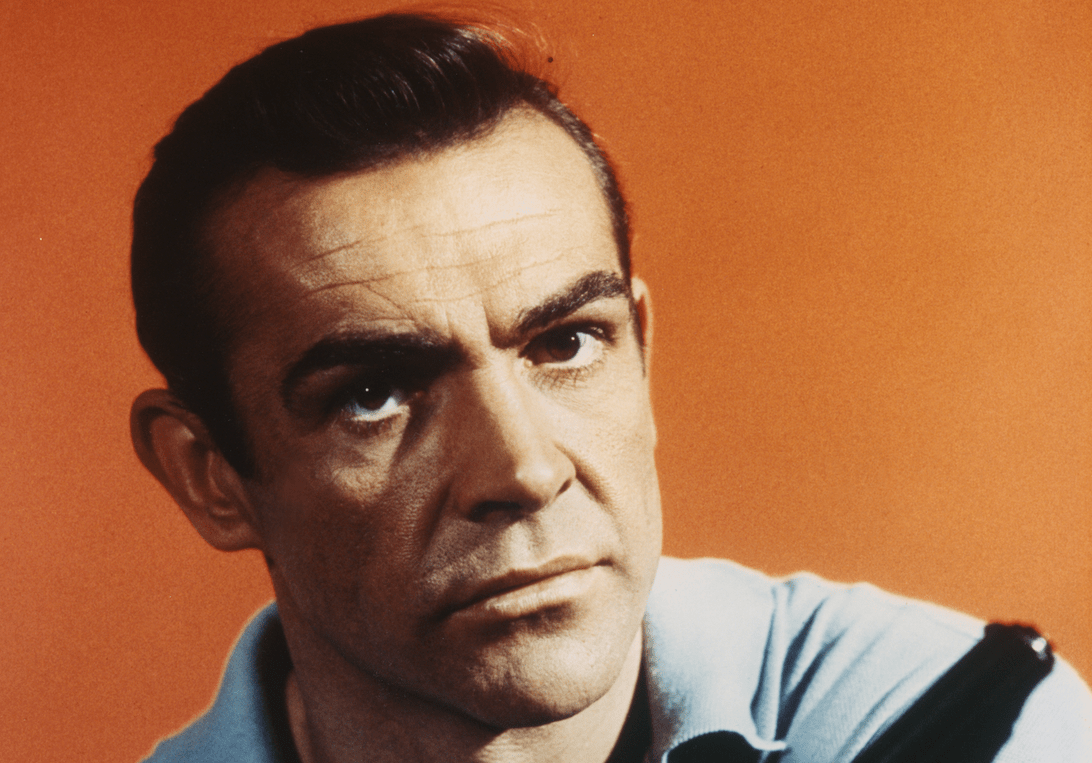 Sean Connery as James Bond in Dr.