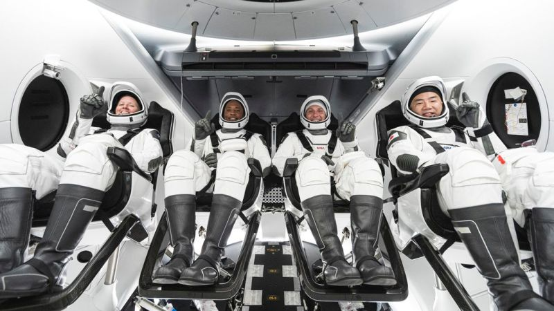 With SpaceX rocket issue sorted, NASA ready to send four astronauts to ISS