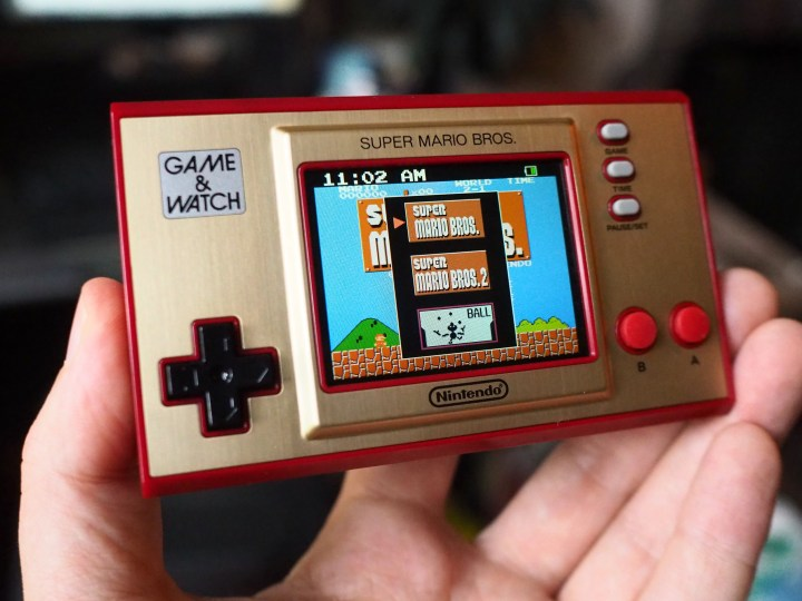 Nintendo's Mario Game & Watch is a choice gaming stocking stuffer of 2020 – TechCrunch