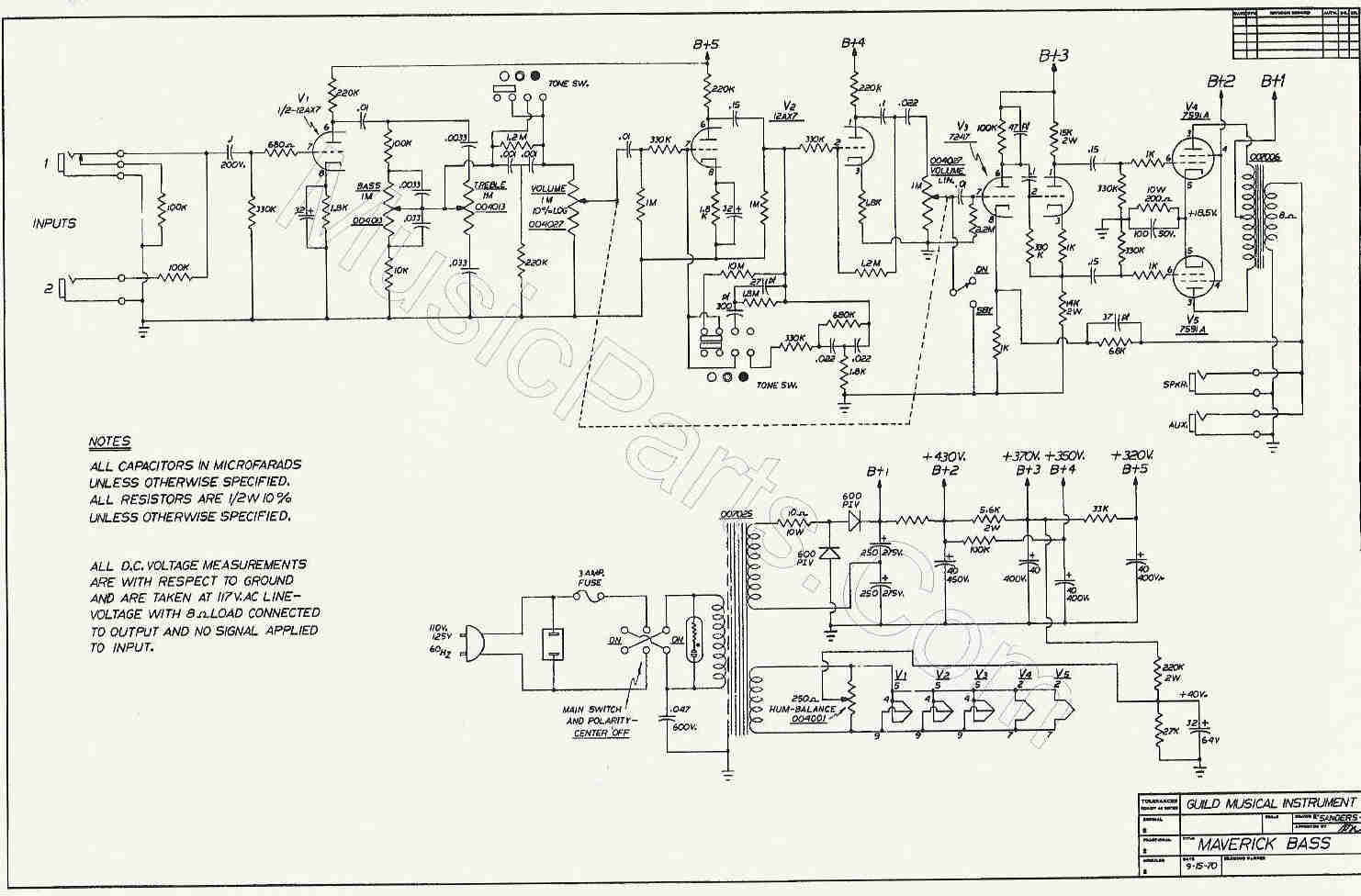Pin Prowess Amplifiers Misc Schematics Dr Z Route 66