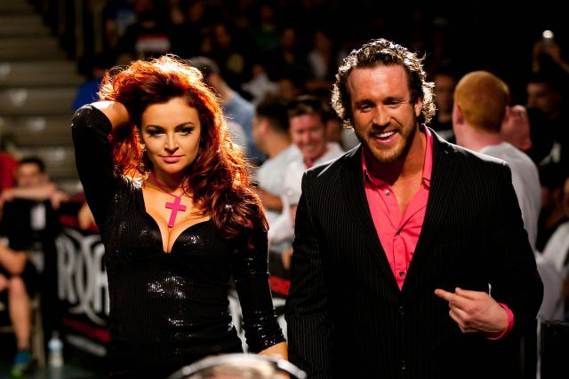 Mike Bennett and Maria