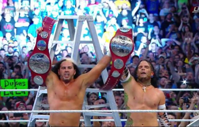 hardy boyz wwe return