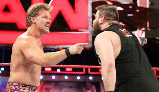 Chris Jericho and Kevin Owens