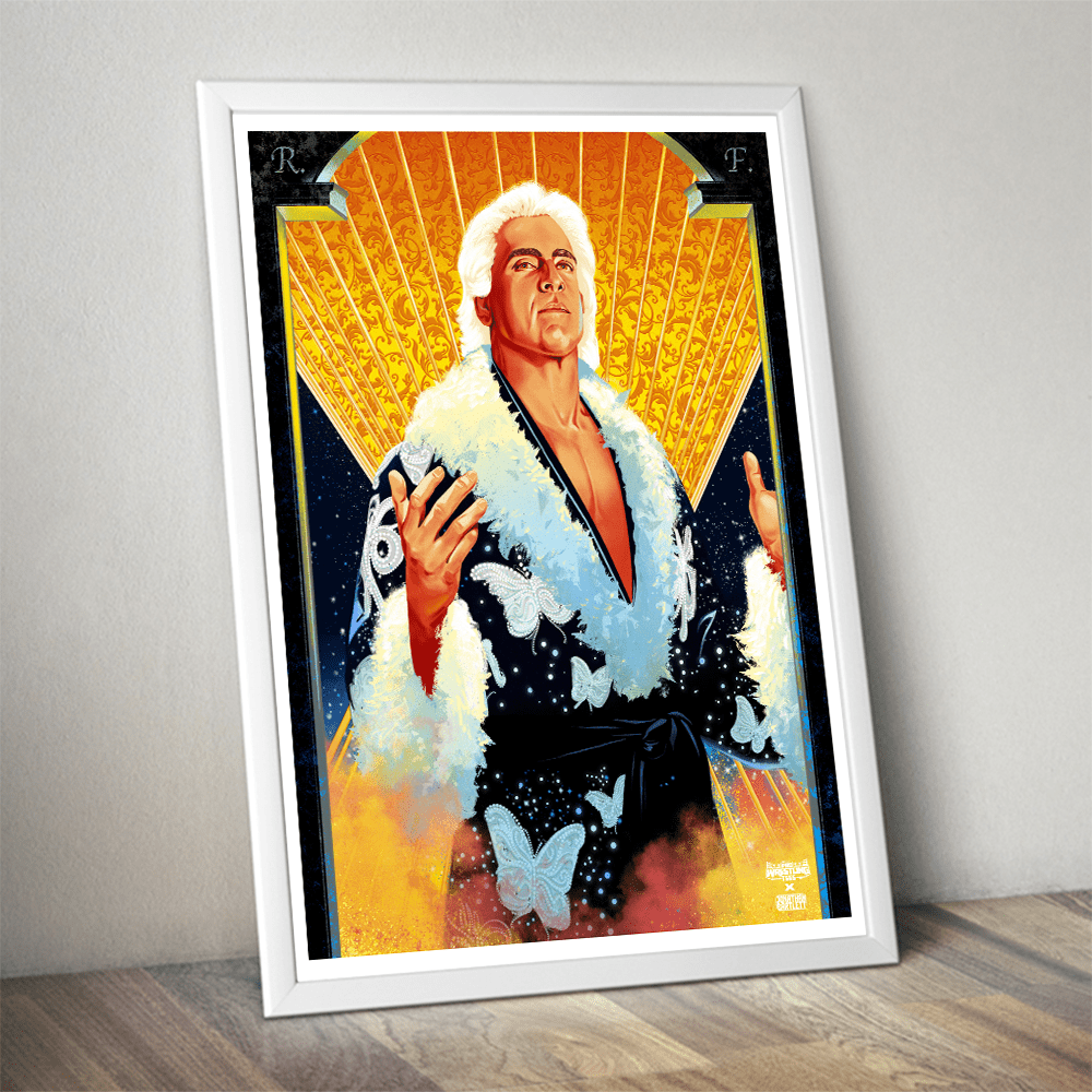 ric flair poster limited edition 200 prints