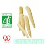 Carotte bio blanche made in Alsace