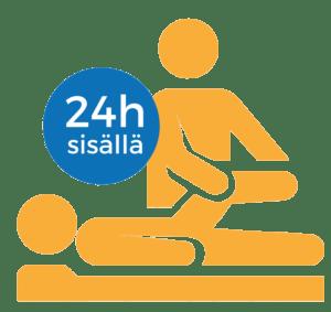 Fysioterapia 24h sisällä