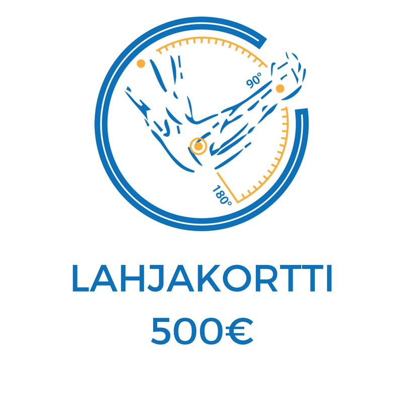 Avoin palvelulahjakortti 500€