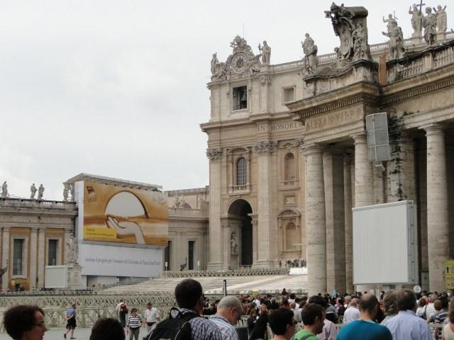 visitando vaticano proximo embarque