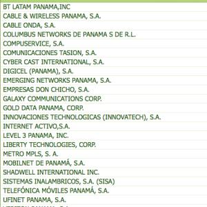 Proveedores de Internet en Panamá