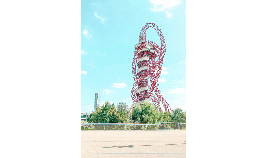 iconos del skyline de Londres: Torre Arcelormittal Orbit