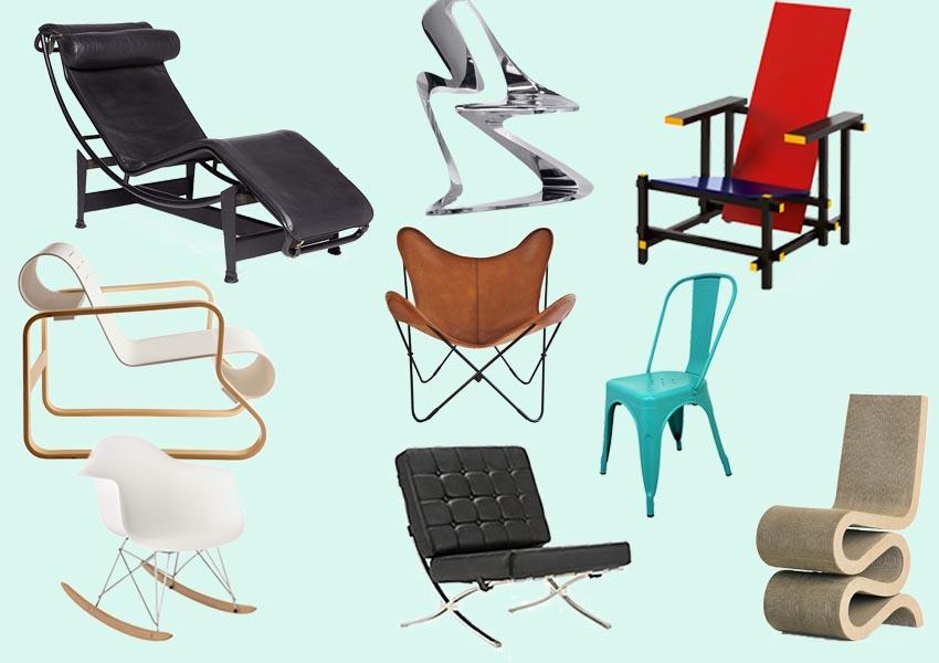 Mobiliario diseñado por arquitectos: 25 sillas de las que no conocías su autor