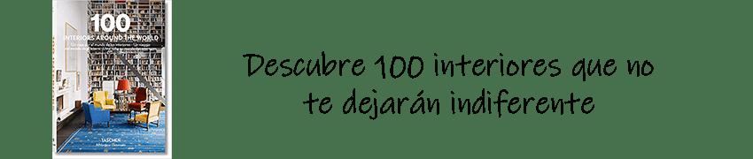 Libro con 100 interiores que no te dejarán indiferente