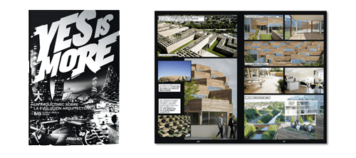 El cómic Yes, is more puede ser un buen regalo para un arquitecto o amante del diseño