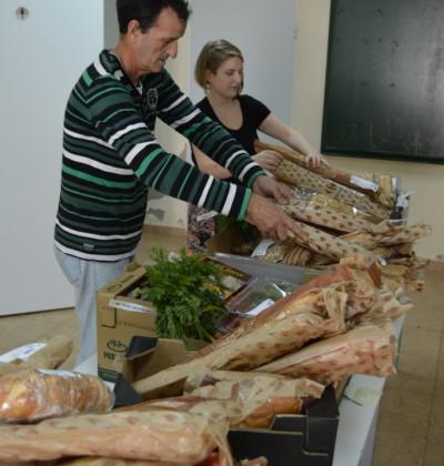 proyecto abraham - voluntariado -En Banco Alimentos