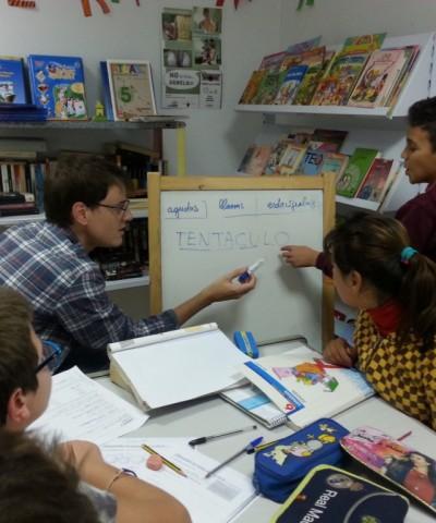 proyecto abraham - voluntariado -clases apoyo