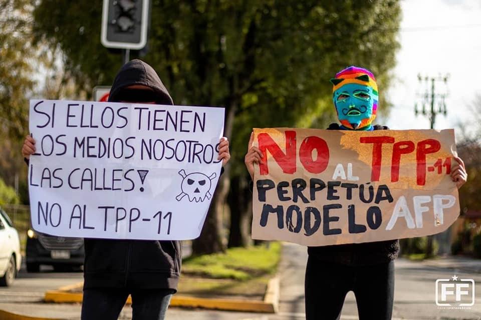 #NoalTPP en tiempos de estallido social:El TPP es una bomba de tiempo para la Nueva Constitución