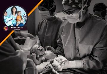 cesárea después de un parto