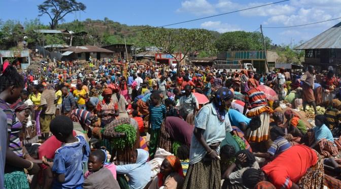 Mercados del sur de Etiopía