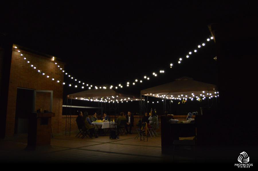 Luces led para eventos