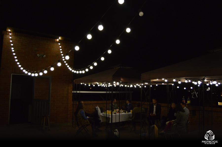 Iluminación para eventos como fechas especiales