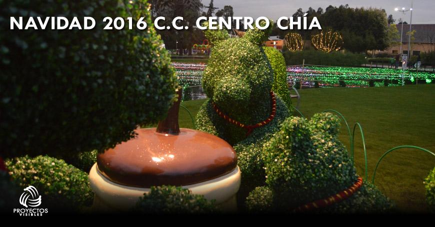 navidad de Centro Chía 2016