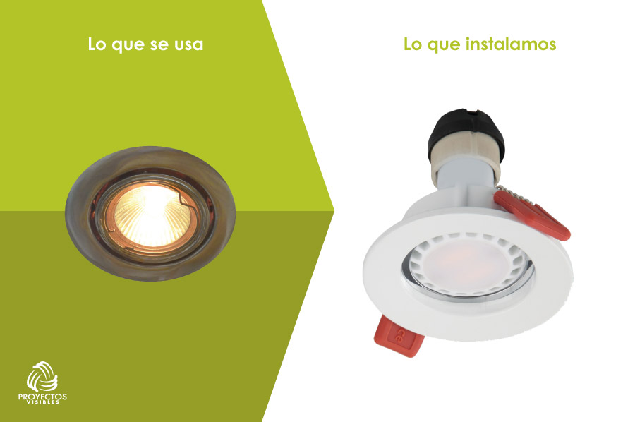 Bombillo Bala LED, productos de Iluminación LED