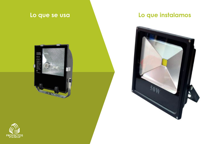 proyector LED en Bogotá, productos de Iluminación LED