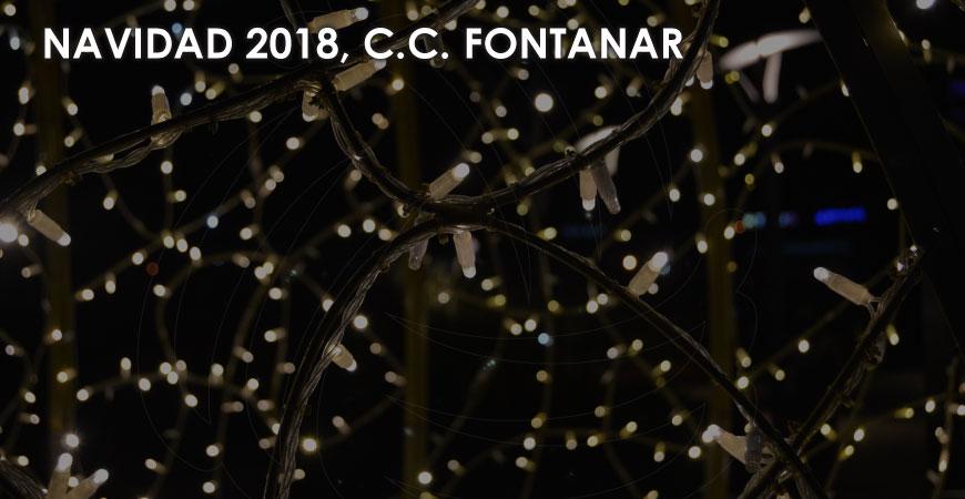 Decoración de navidad Centro Comercial Fontanar 2018
