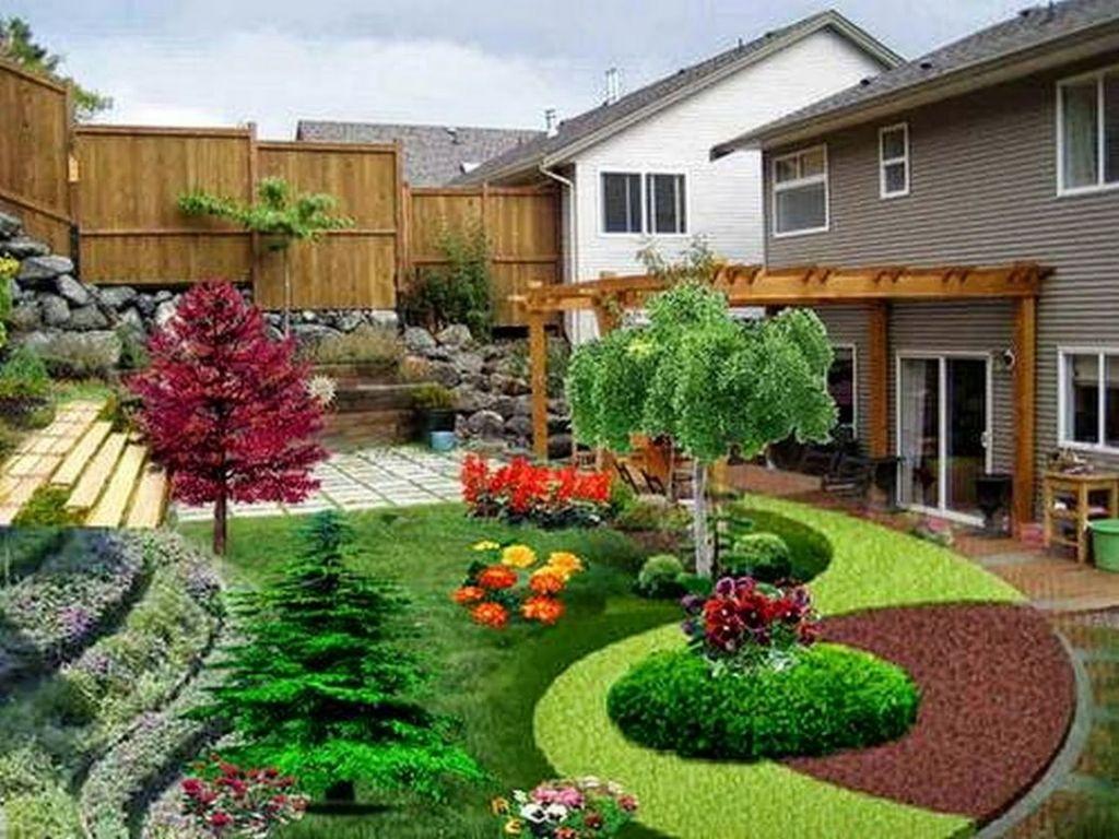 Contoh Desain Taman Depan Rumah Minimalis pada model teras rumah sederhana