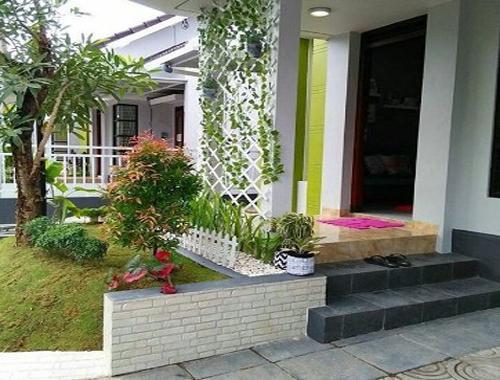 desain model teras rumah sederhana