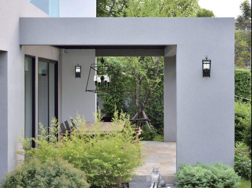lampu teras pada model teras rumah sederhana