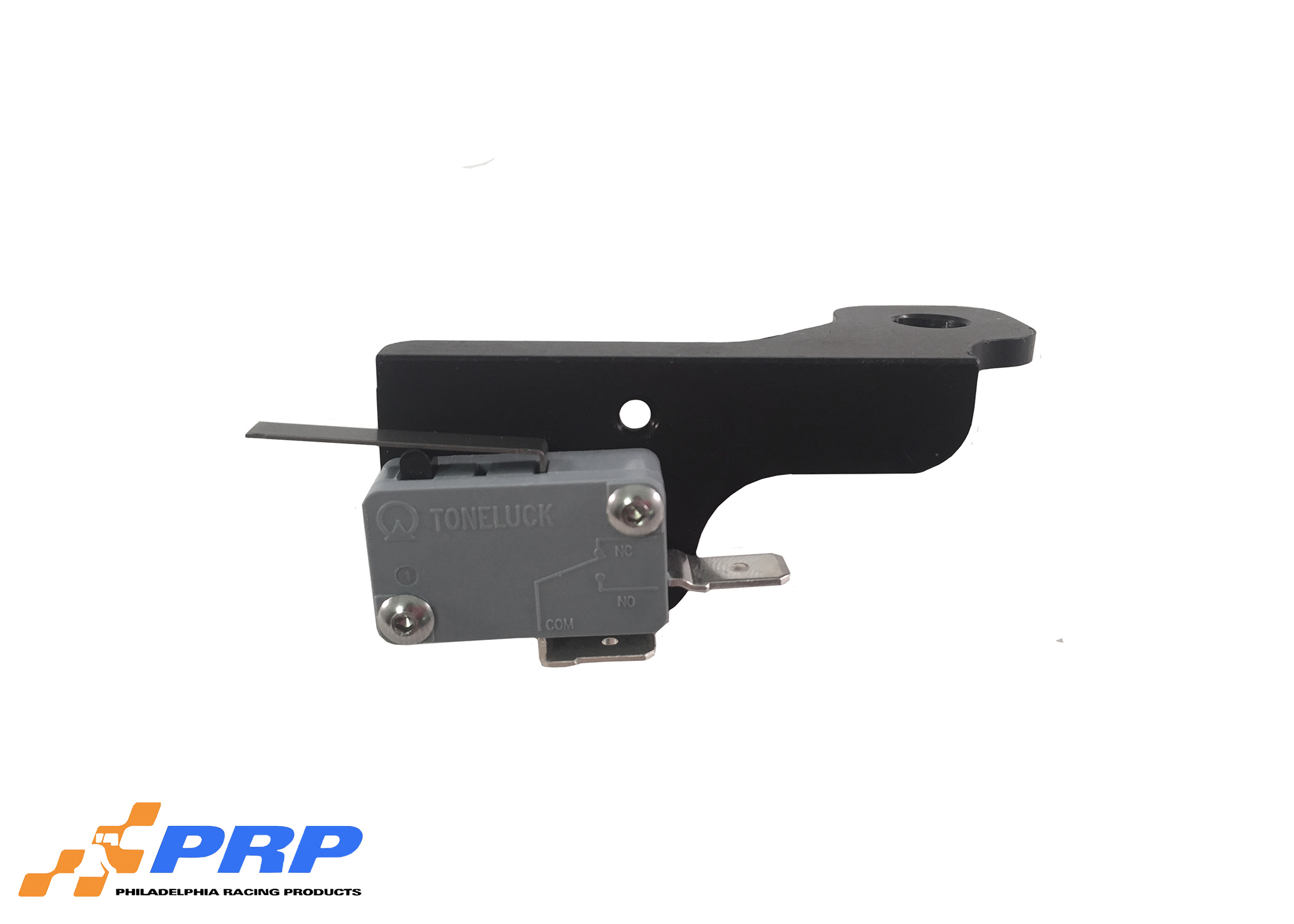 Black and Silver 4500 Micro Switch Mounting Brackets made by PRP Racing Products