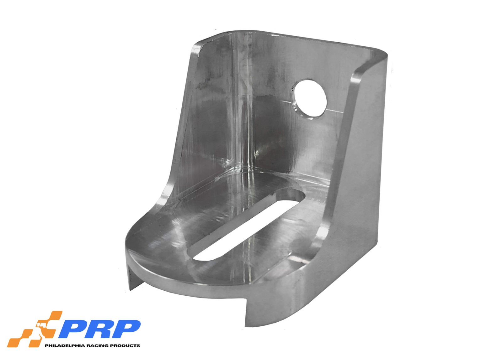 Polished Lokar Kickdown Detent Cable Brackets made by PRP Racing Products