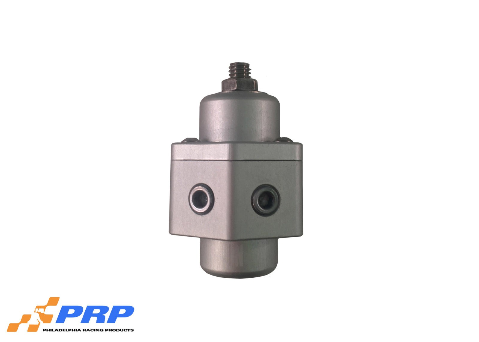 Clear Fuel Pressure Regulator made by PRP Racing Products Main Picture Front view