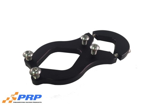 Black Remote Water Pump Mounting Brackets made by PRP Racing Products