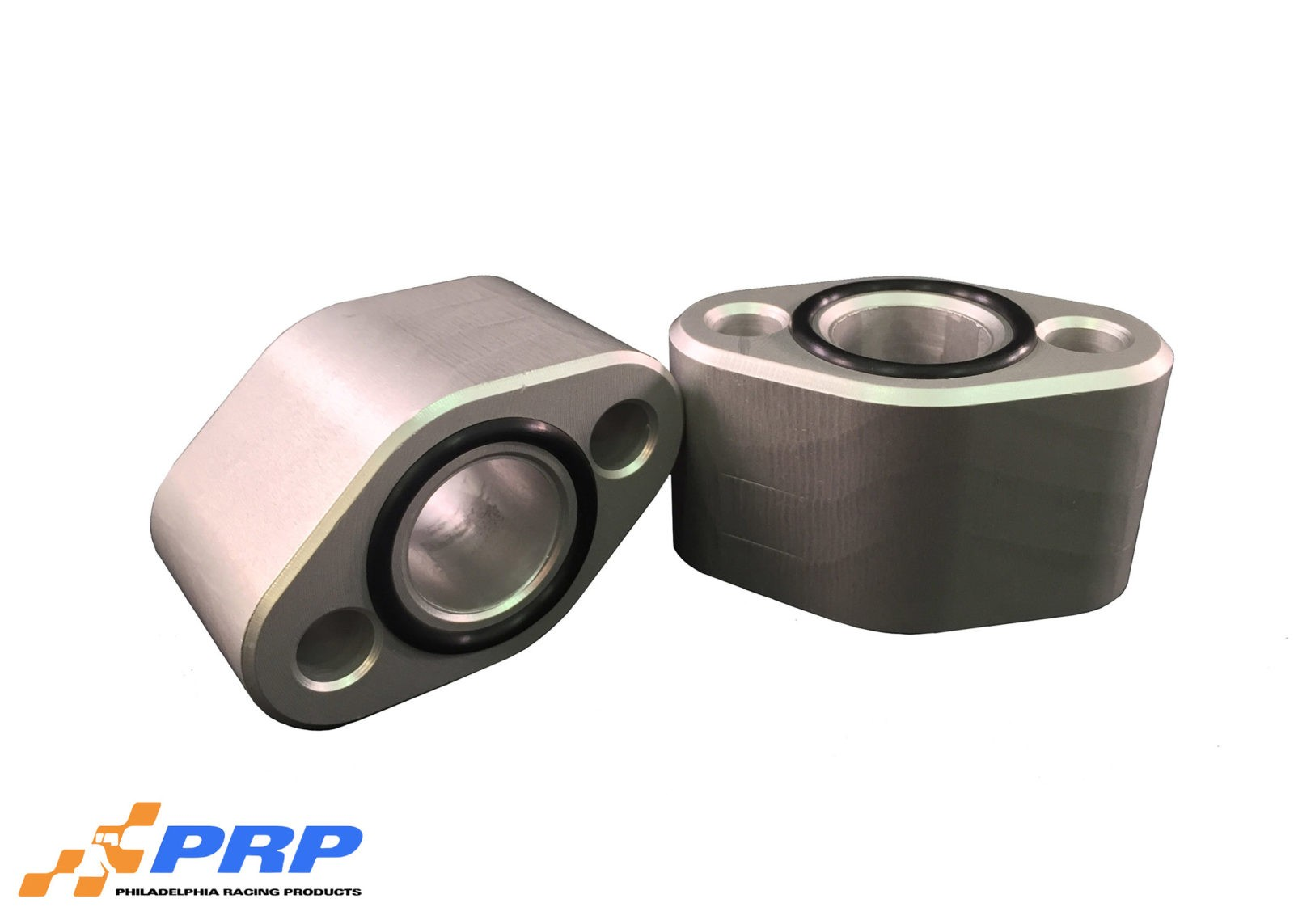 "Clear SBC 1-1/2"" water pump spacer made by PRP Racing Products"