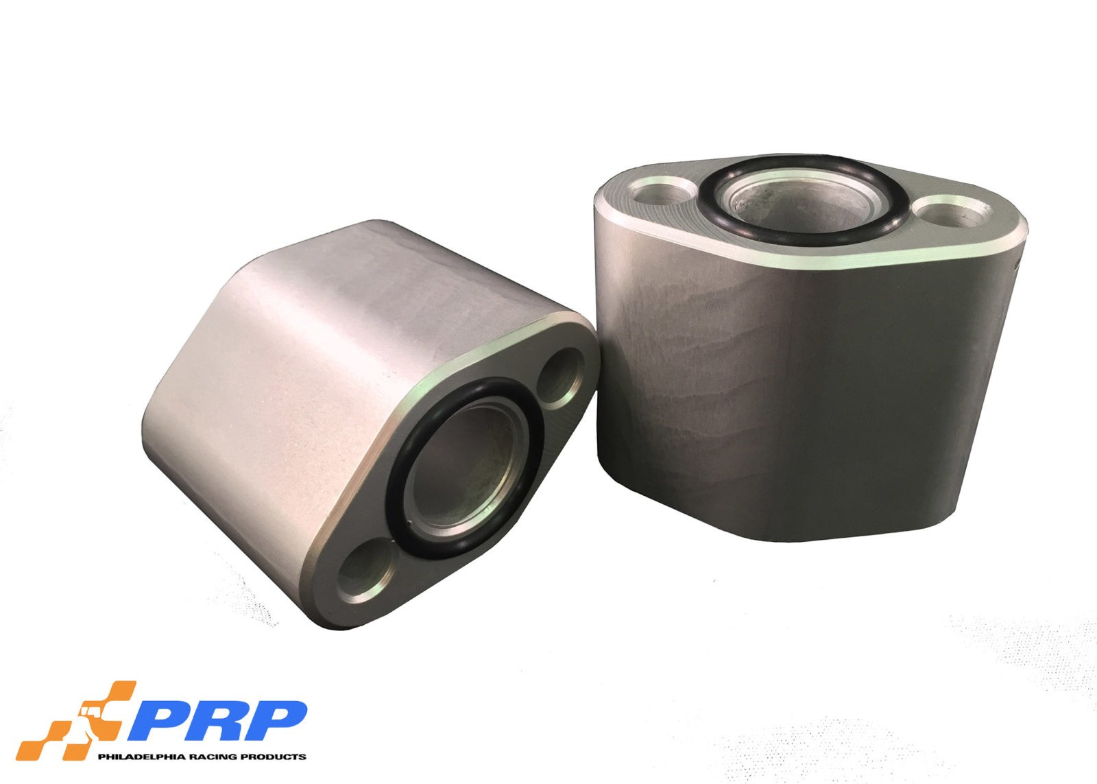 "Clear SBC 2-1/4"" water pump spacer made by PRP Racing Products"