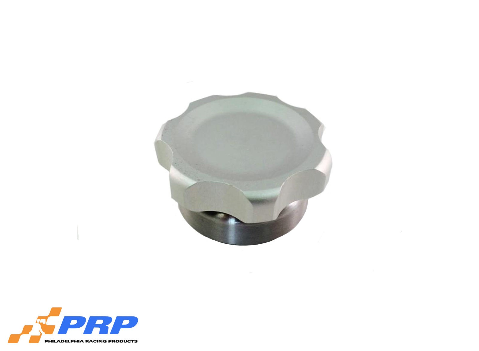 Clear Anodized Small Billet Filler Cap Kit made by PRP Racing Products