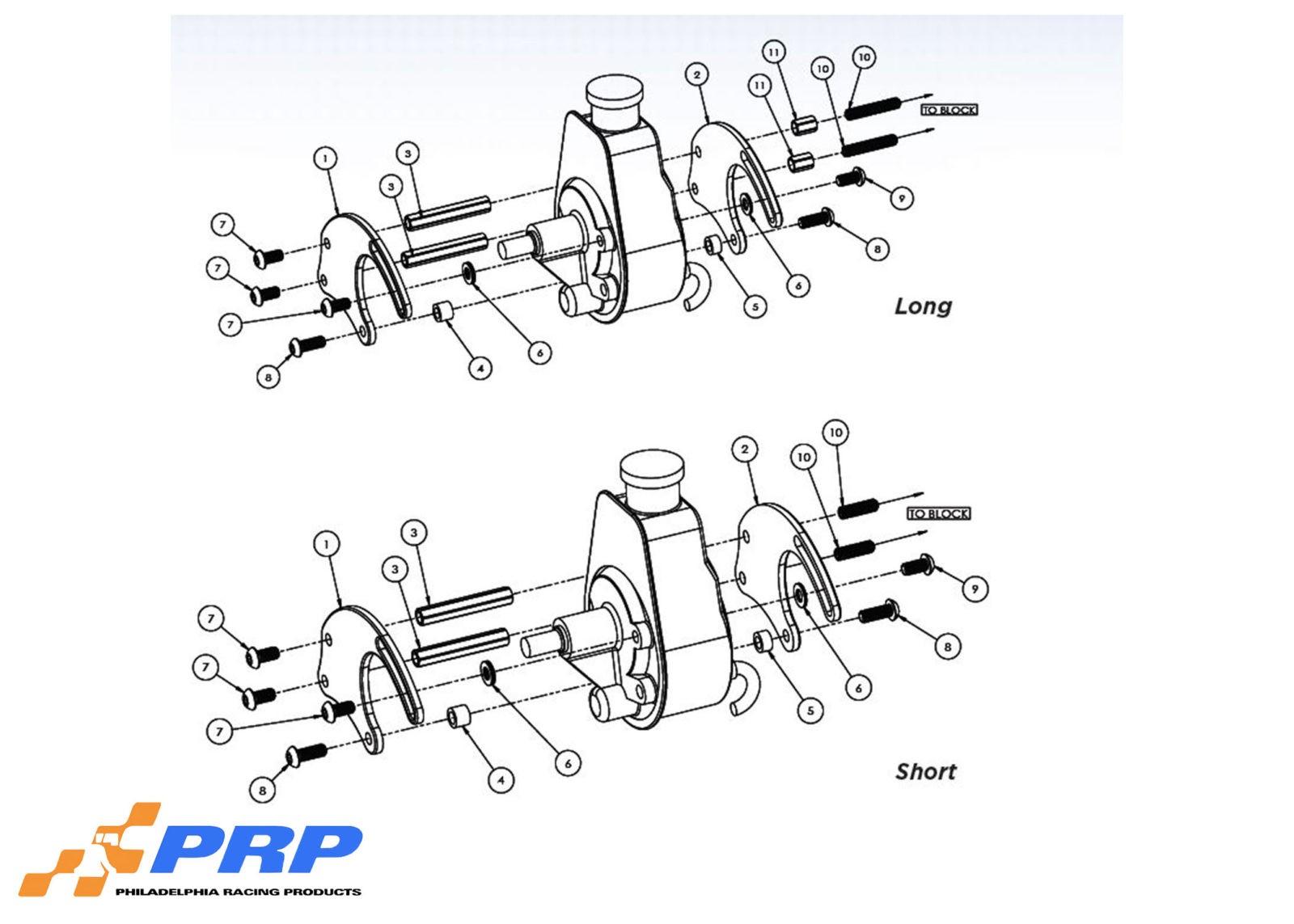 Power Steering Pump Mounting Bracket Kits