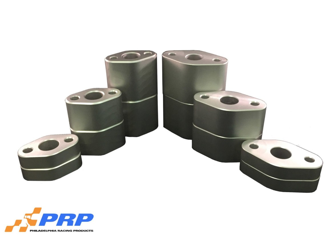 Clear Water Pump Spacers made by PRP Racing Products