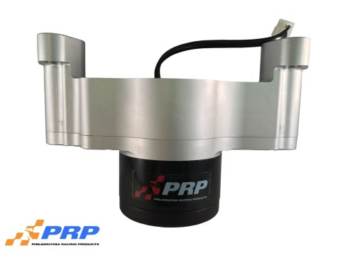 Clear Small Block Chevy Electric Water Pump made by PRP Racing Products
