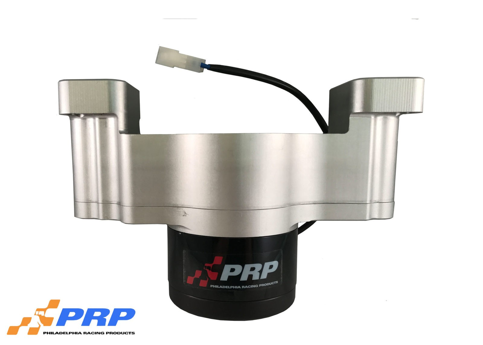 Clear and Black Ford Electric Water Pump made by PRP Racing Products