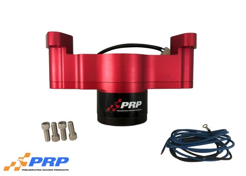 Red Chevy Electric Water Pump made by PRP Racing Products