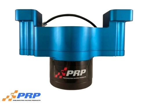 Blue and Black Ford Electric Water Pump made by PRP Racing Products