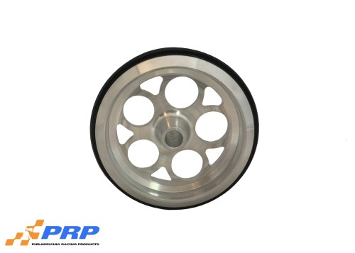 PRP Clear Wheelie Bar Wheel Hole Style made by PRP Racing Products