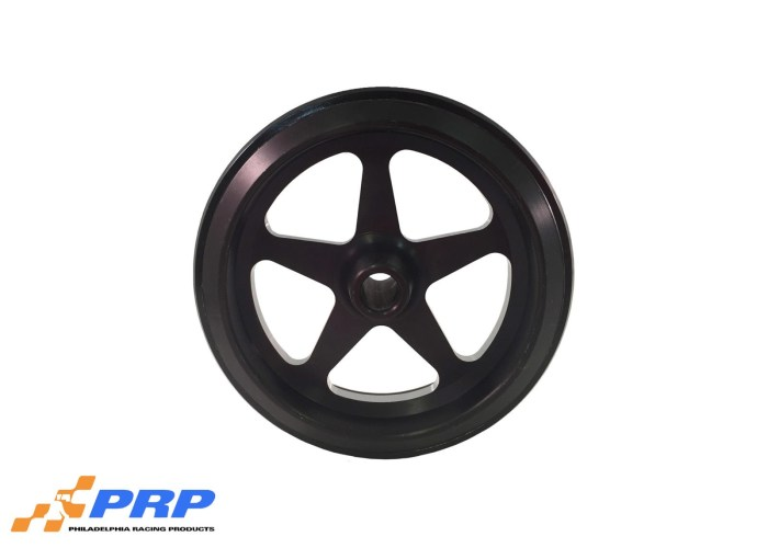 Black Anodized Star Style made by PRP Racing Products