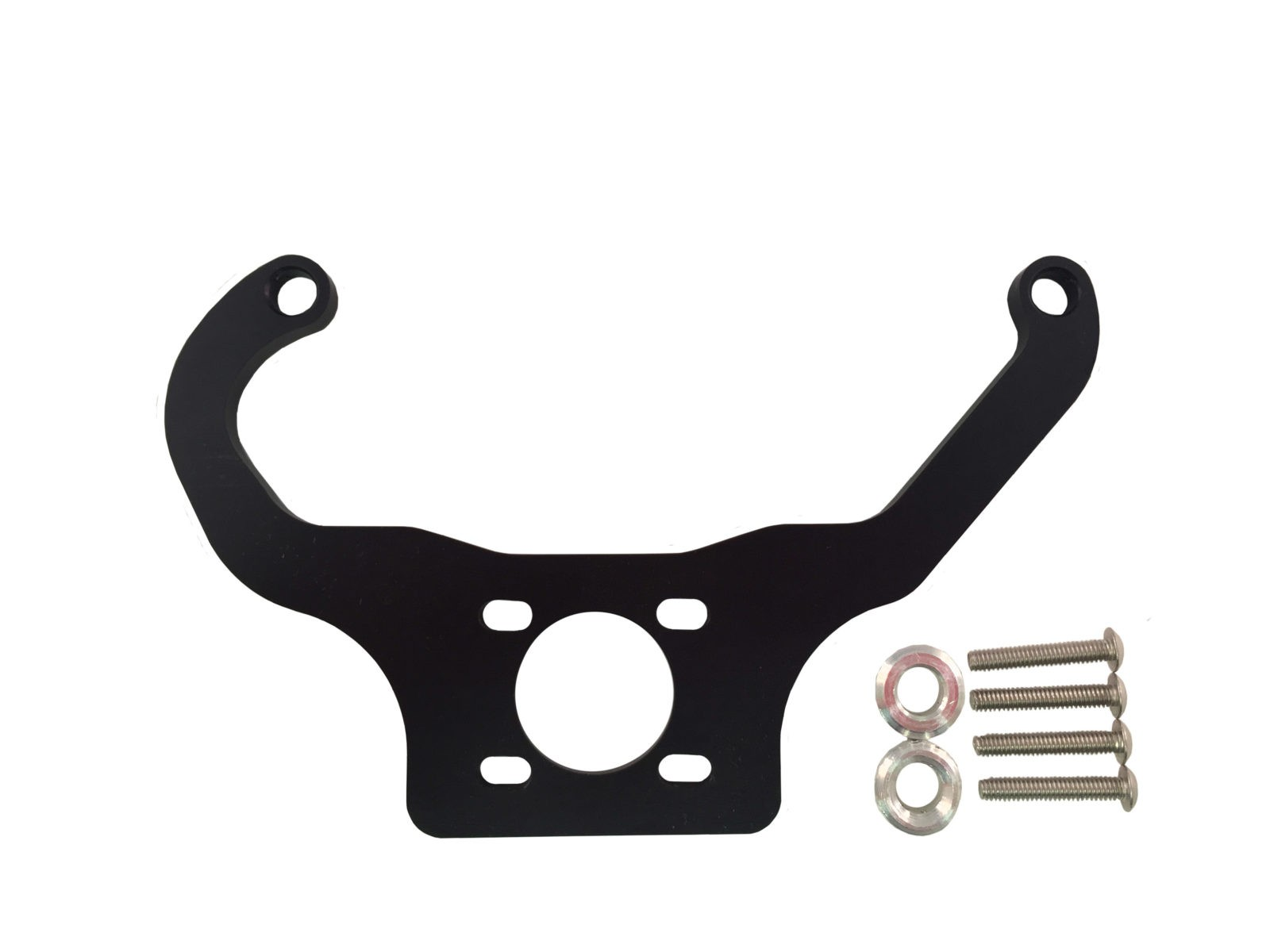 Black Fuel Pressure Regulator Mounting Brackets Holley Quickfuel made by PRP Racing Products