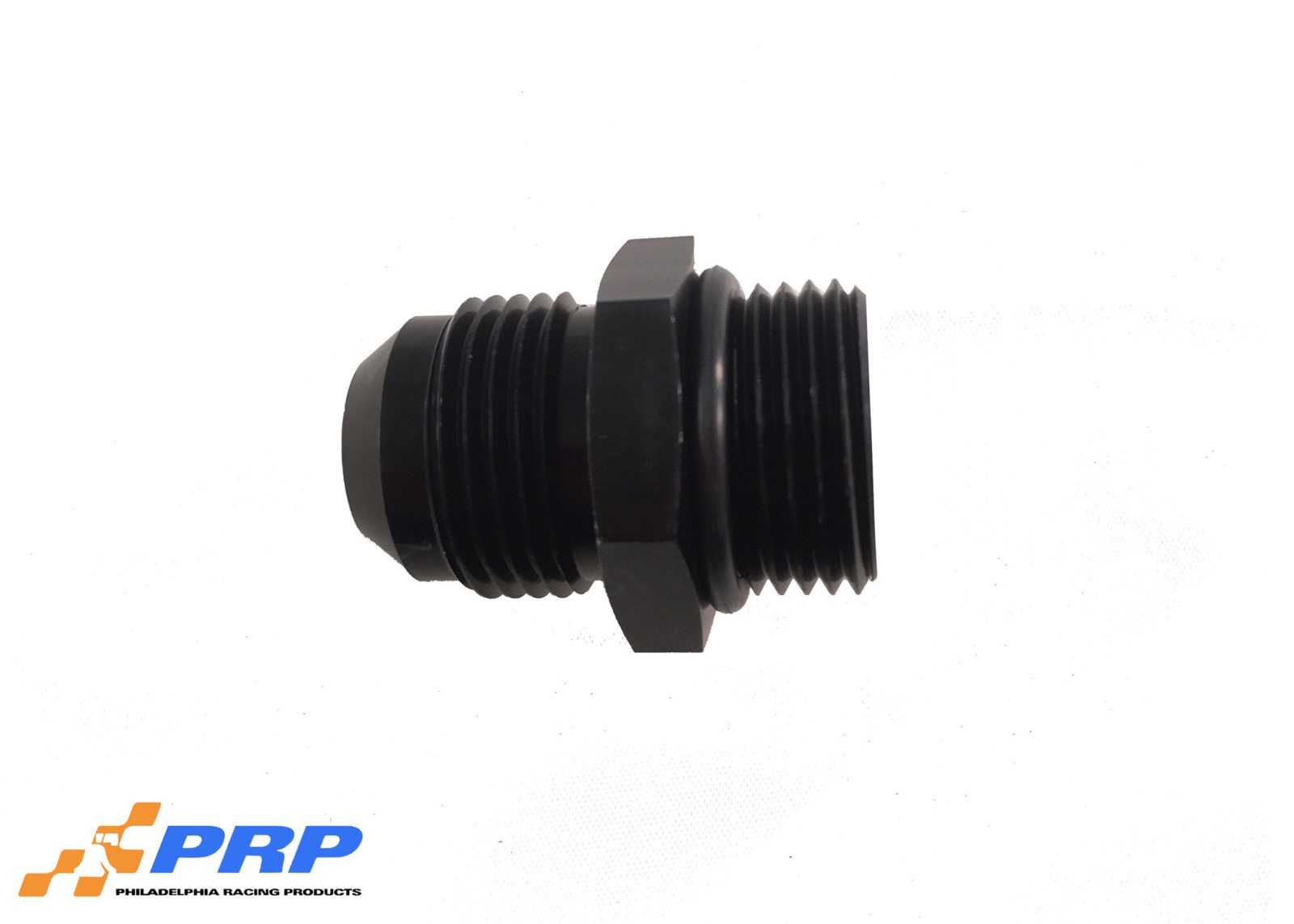 Black O-Ring Style Port Adapter Fittings 12AN Port fitting to 12AN Hose made by PRP Racing Products