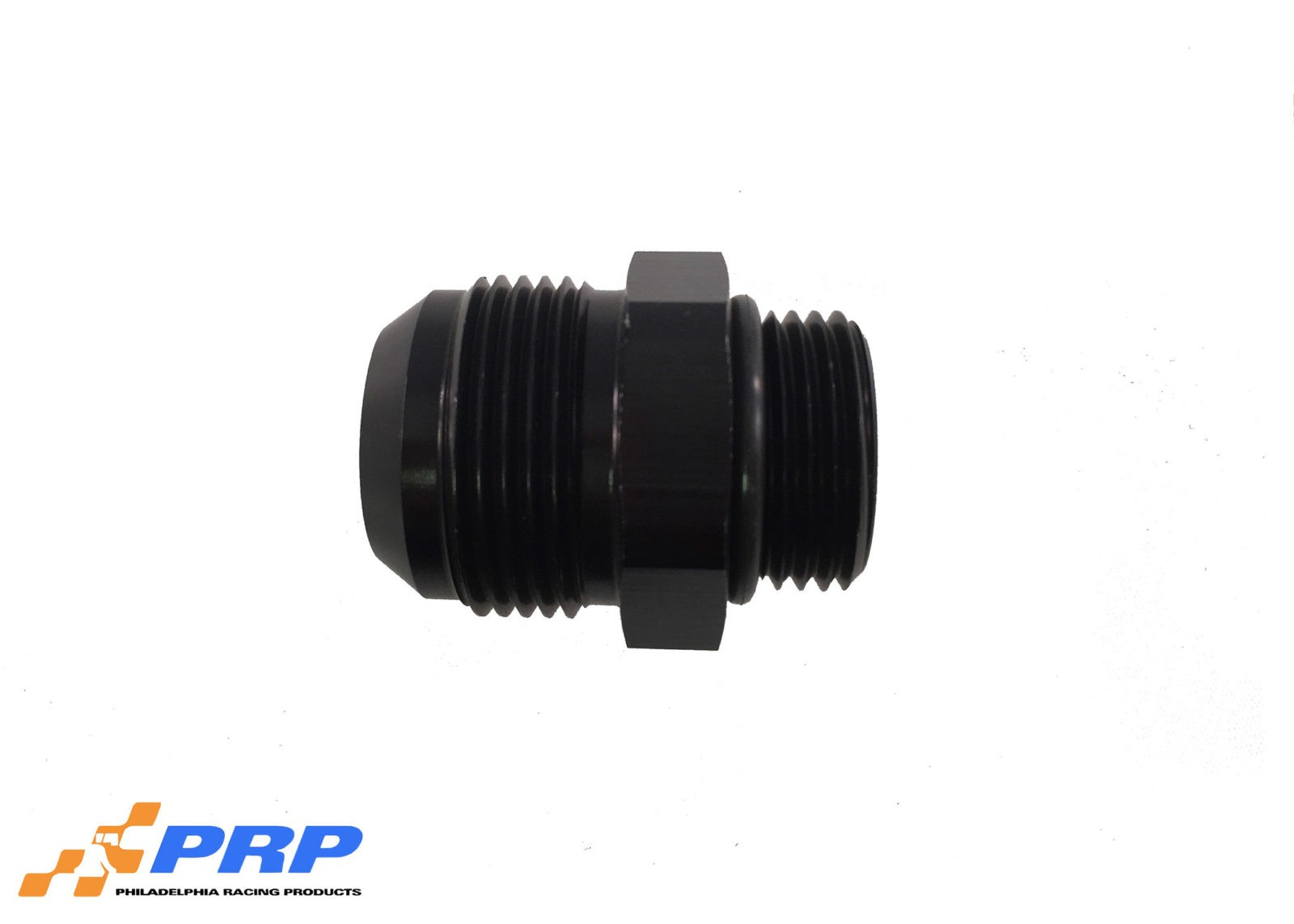 Black O-Ring Style Port Adapter Fittings 12AN Port fitting to 16AN Hose made by PRP Racing Products